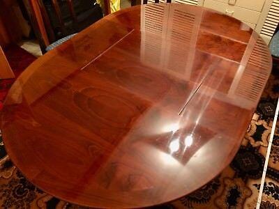 WK-Möbel Kirschholztisch rund & ausziehbar - Durchmesser 110cm bis 160cm Länge - Kirsche Holz Rund Esstisch
