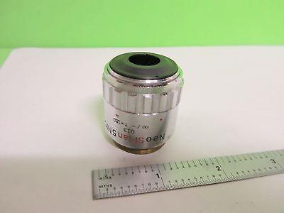 Olympus Objective Neosplan Nic 5x Infinity Microscope Part Optics Bin25-14-10