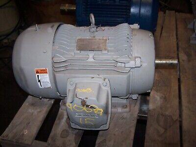 Siemens 15 Hp Ac Electric Motor 254t Frame 3530 Rpm 208-230460 Vac Tefc 3 Phase