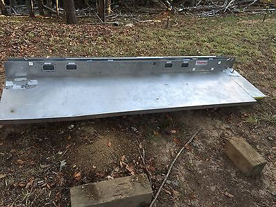 7 6 X 246 Back Splash Stainless Steel Kitchen Or Work Station Counter Top