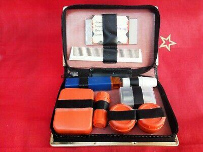Vintage Neceser travel Bag dressing equipage Nesesser Soviet USSR set 1991 segunda mano  Embacar hacia Mexico