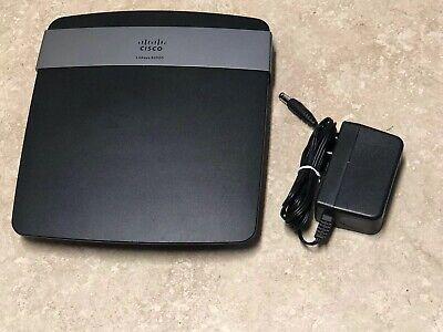 Cisco Linksys E2500 300 Mbps 4-Port 10/100 Wireless N Router Free Shipping for sale  Shipping to Nigeria