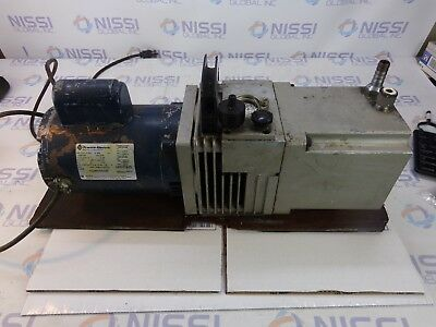 Edward Edm20 High Vacuum Pump With Fraklin Elec. 1101101407