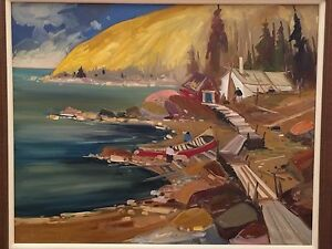 Louis Tremblay I.A.F. Original  Oil Painting