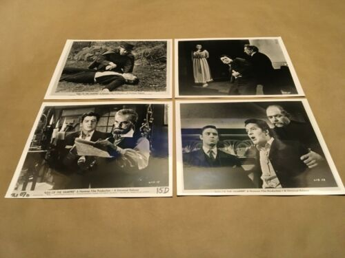 "Collection of 4 Photos 1963 "" KISS OF THE VAMPIRE ""Lobby Cards? Promo"