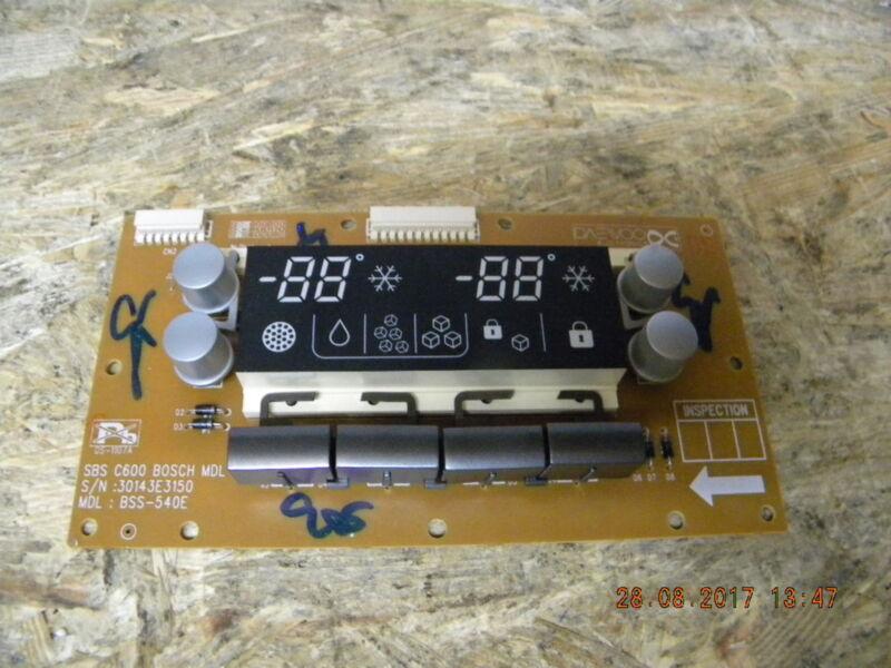 Bosch Doppel Kühlschrank : Ersatzteil steuerelektronik bedienplatine für bosch side by side