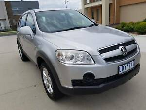 SPECIAL! 2007 HOLDEN CAPTIVA SX (4X4) - LOW KMS - REG+RWC!