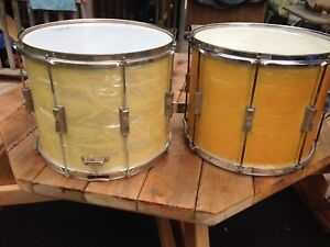 Two WFL snare drums