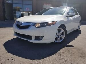 2009 Acura TSX W/PREMIUM PKG PADDLE SHIFTER 88K ONLY!!!
