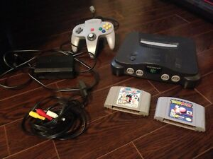Nintendo 64 with 2 great games