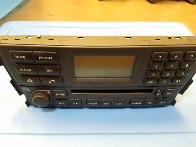 JAGUAR S-TYPE RADIO CD PLAYER 2R83-18B876-AH for sale  Irving