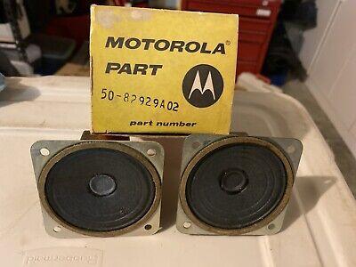 Pair Ofgenuine Motorola Speaker 50-82929a02 New In Box Fire Police Ham Radio 3