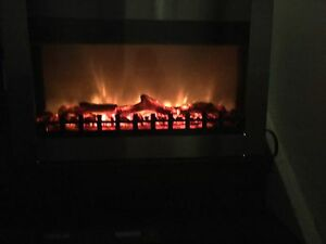 Dresden SS Electric Fireplace!  Remote Manual  Hardware included
