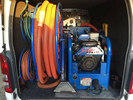 Carpet Cleaning Van & Equipment - Be your own boss Ormeau Gold Coast North Preview