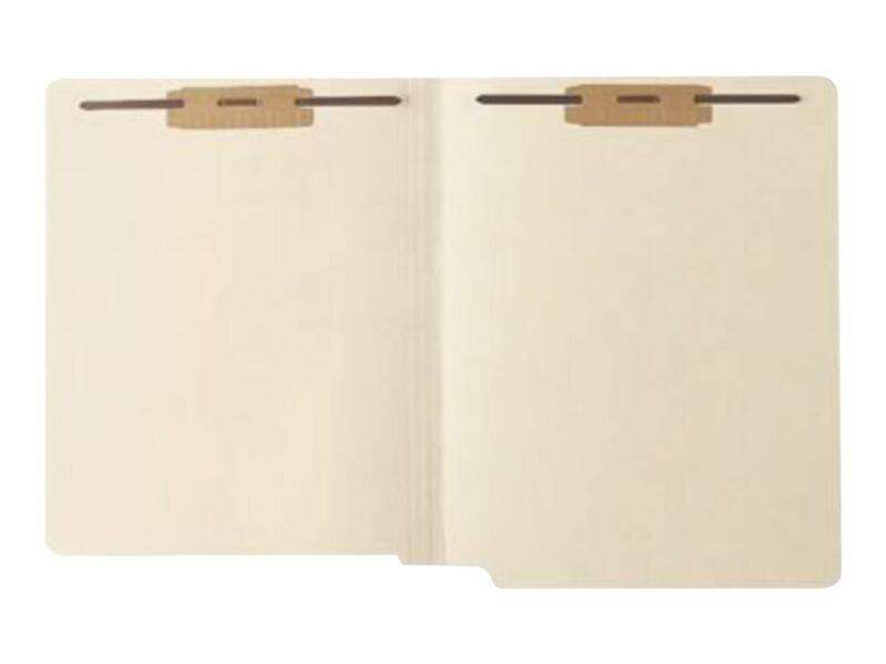 Medical Arts Press Heavy Duty End Tab File Folders Letter Size 541962