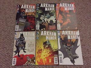 Batman Arkham Manor complete Set