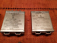SIEMENS HALSKE MP Kondensator 8µF 160V Vintage PIO Paper Oil Tube-Amp Capacitor