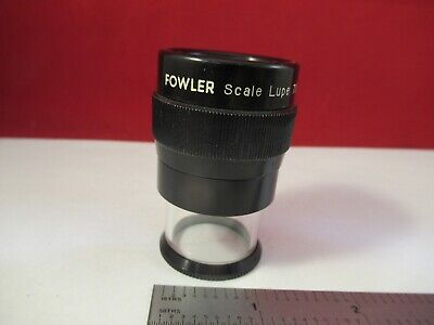 Optical Portable Lupe Fowler Magnifier Japan 7x Metrology Inspection 13-12