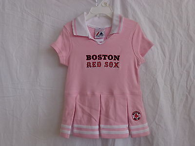 Boston Red Sox Pink Cheerleader Dress - Toddler and Child Sizes