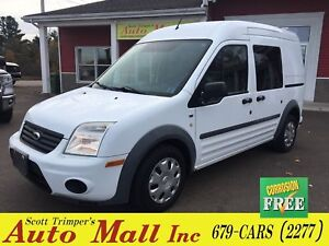 2012 Ford Transit Connect XLT w/Rear & Side Door Glass