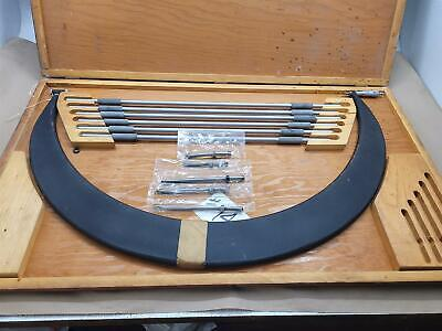 Scherr Tumico 600-750mm Tubular Frame Blade Outside Micrometer