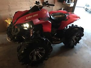 2009 canam renegade 800r reduced