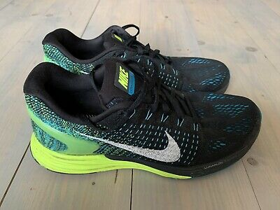 Nike Lunarglide Flyknit running shoes. Size 8uk. Rare colourway Great condition!