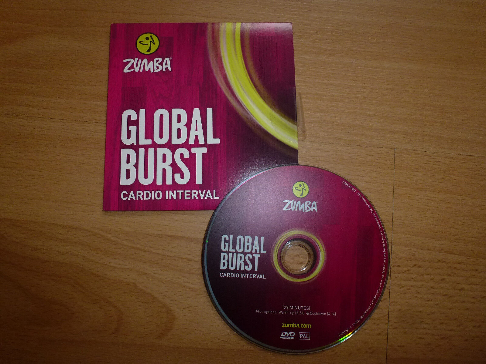 Zumba Fitness  DVD * Global Burst * 30 min.Cardio Interval *NEU*RAR*TOP*