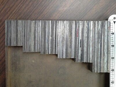 144 Pc Lead Line Spacing For Kelsey Letterpress Linotype Cp