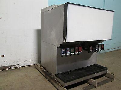 Remcor H.d. Commercial 10 Flavors Lighted Soda Dispenser Wice Bin Dispenser