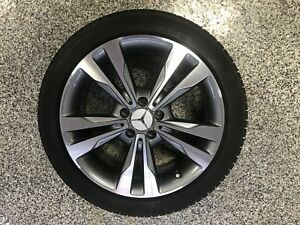 Mercedes 225/45R18 Winter Tires And Rims