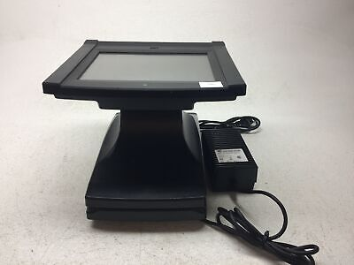 Par Gemini M5050-01 12 Resistive Pos Terminal Point Of Sale With Power Adapter