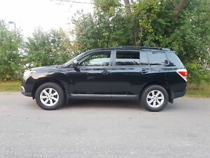 2012 Toyota Highlander 4WD 7 SEATER LOADED REV CAMERA LOW KMS CE