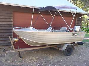 4m Bluefin dinghy with 30hp Honda four stroke and trailer Yallingup Busselton Area Preview