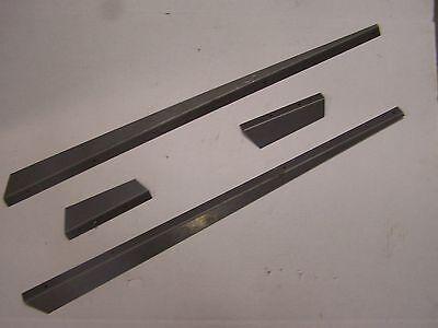 Oliver 1555 1655 Tractor Hood Side Panel Deflector Trim