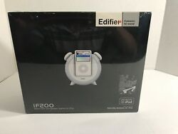 Edifier if200 Alarm Clock & Speaker System for Ipod NEW SEALED