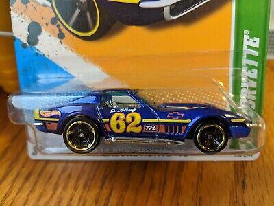 Hot Wheels 2012 Treasure Hunt '69 Corvette TH Rare VHTF Chevrolet Clean Card!!!!