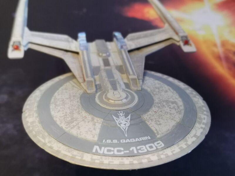 SHEPARD CLASS USS KERALA CUSTOM DECALS Star Trek Discovery EAGLEMOSS NO MODEL