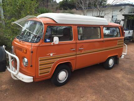 1976 Volkswagen Dormobile Transporter Fyshwick South Canberra Preview