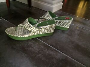 Going down south?? Coach Sandals - brand new with tags!!