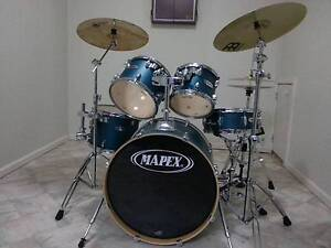 Mapex  VX series 5 Piece Drum kit with Cymbals, pedals and Stool Greenwich Lane Cove Area Preview
