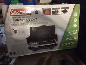 Coleman camp grill / stove brand new $119 retail