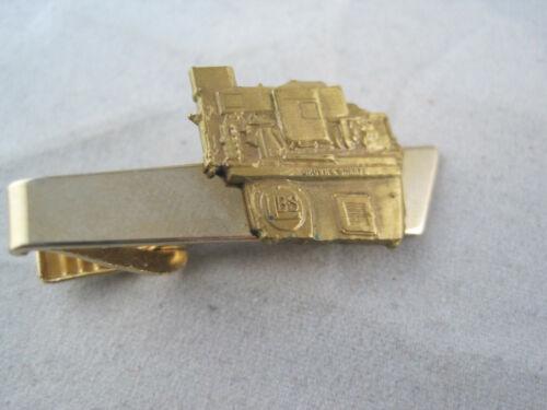 Vintage Brown & Sharpe Tool - Screw Machine - Tie Clip Bar Clasp - Bronze Accent