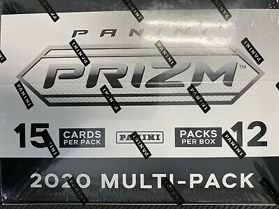 2020 PRIZM FOOTBALL MULTI PACK CELLO BOX FACTORY SEALED