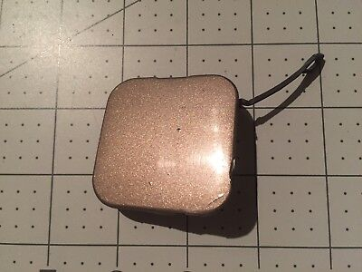 04-09 OEM Cadillac SRX SUV front bumper tow cap cover plug square light brown