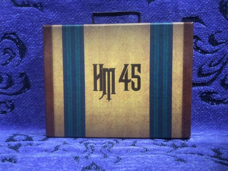 DISNEY HAUNTED MANSION 45TH ANNIVERSARY SUITCASE 4 PIN BOXED SET HATBOX HHG NEW