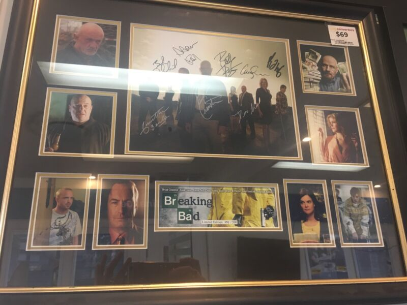 Breaking bad Limited Edition 101/500 Frame   Collectables   Gumtree ...