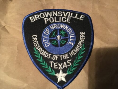 BROWNSVILLE TEXAS POLICE patch NB