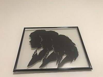 Framed Harry Potter Floating Silhouette Art Hermione Ron