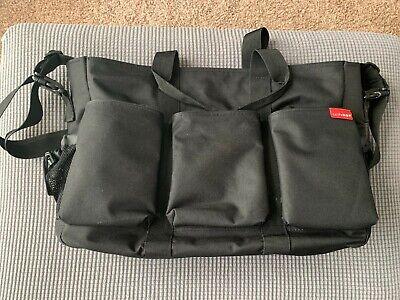Skip Hop Duo Double Signature Large Diaper Bag Black Twins Stroller Bag (Skip Hop Duo Double Signature Diaper Bag Black)